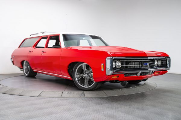 1969 Chevy Brookwood wagon with a supercharged LS3 V8