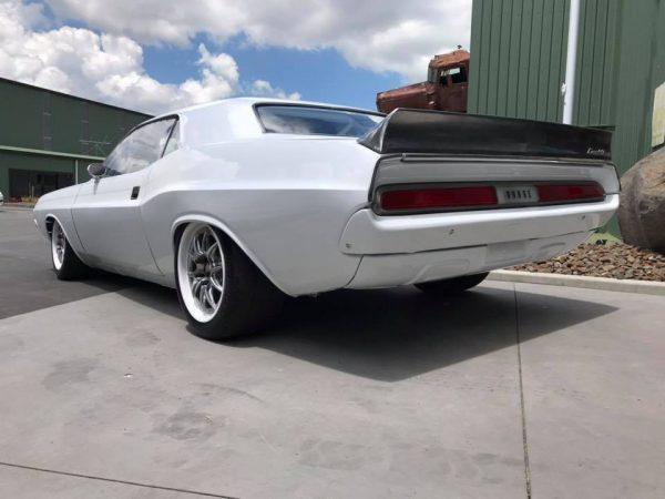 1970 Dodge Challenger with a Nascar V8