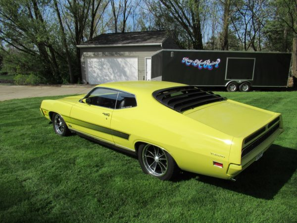 1971 Ford Torino GT with a Coyote V8