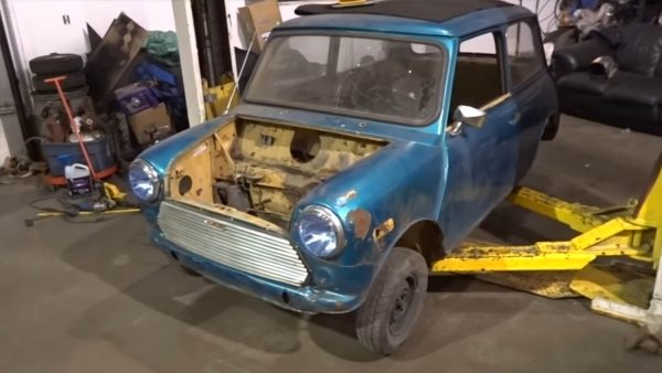 1977 Mini with a Supercharged LSx V8
