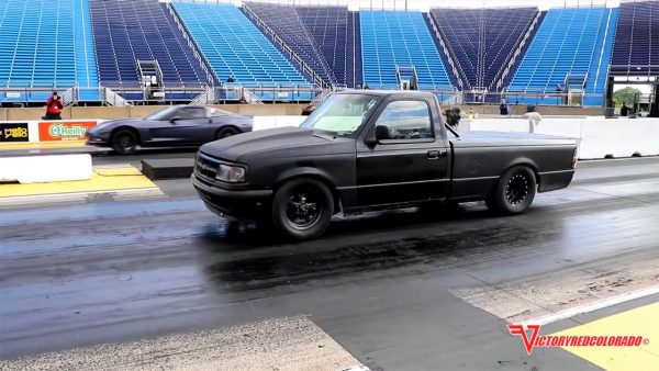 1996 Ford Ranger with a turbo Windsor V8