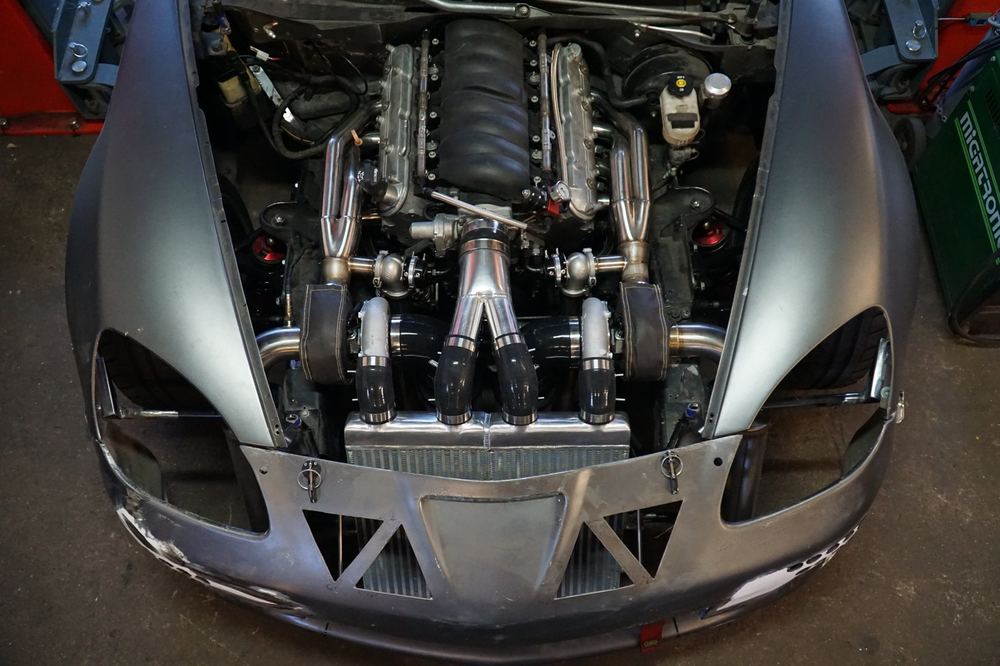 Corvette Z06 with a Twin-Turbo LS3 – Engine Swap Depot