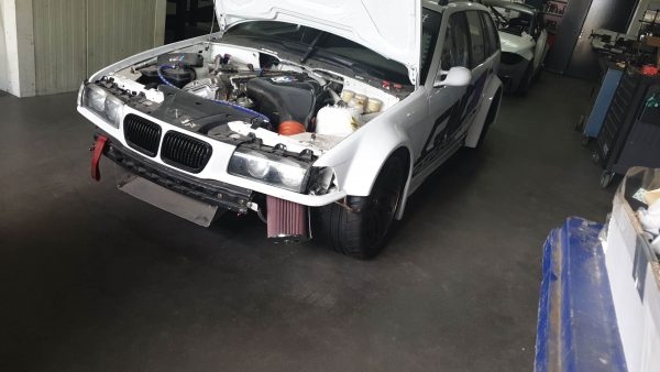 BMW E36 wagon with a S54 inline-six