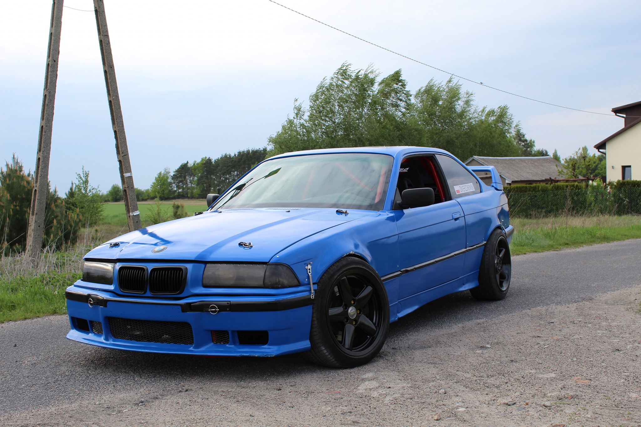 BMW E36 with a M62 V8 – Engine Swap Depot