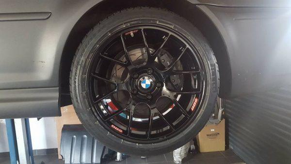 BMW E46 M3 with a LS7 V8