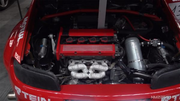 Fiat Punto GT with a turbo 2.0 L inline-four