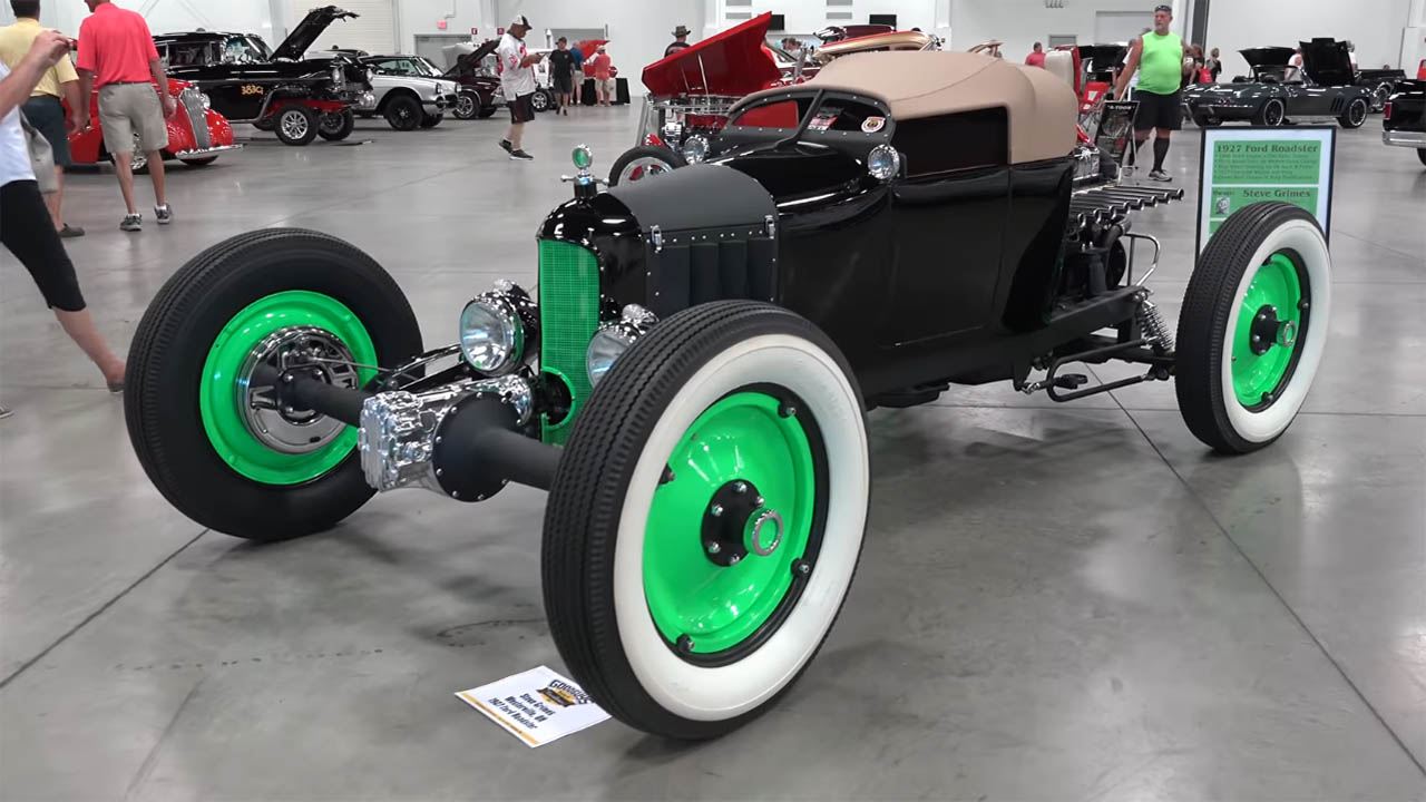 Steve Grimes FWD Ford Roadster with a Buick Inline-Eight