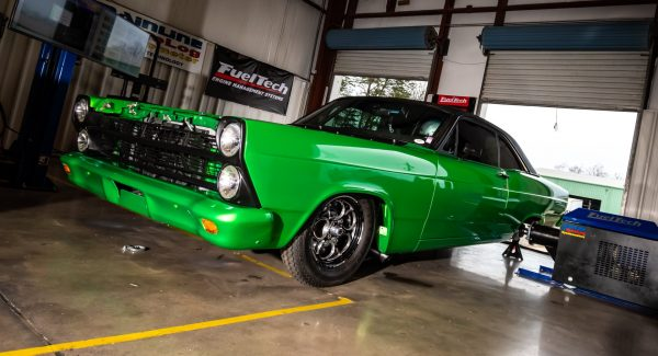 1967 Fairlane with a Twin-Turbo Coyote V8