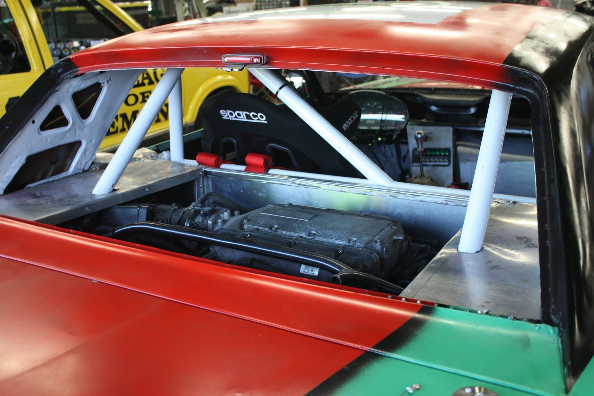 1967 Mustang with a Mid-Engine Honda J35 V6 – Engine Swap Depot