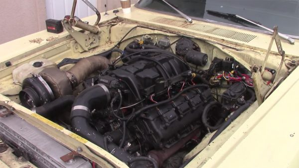 1969 Coronet with a turbo Hellcat V8