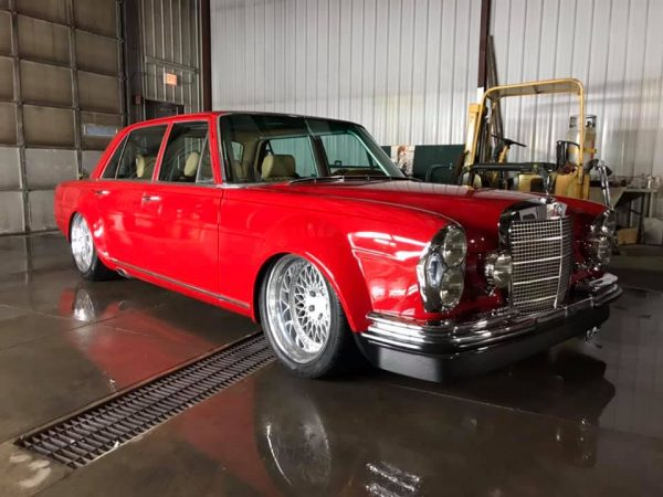 1969 Mercedes 280SEL with a 408 ci LSx V8