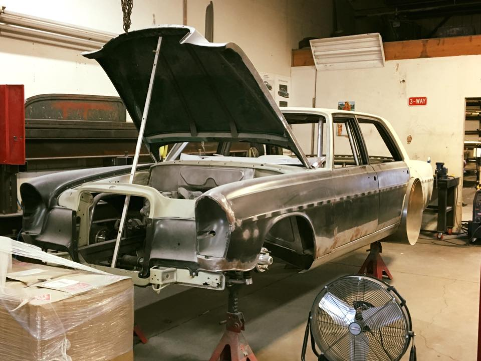 1969 Mercedes 280SEL with a 408 ci LSx V8 – Engine Swap Depot