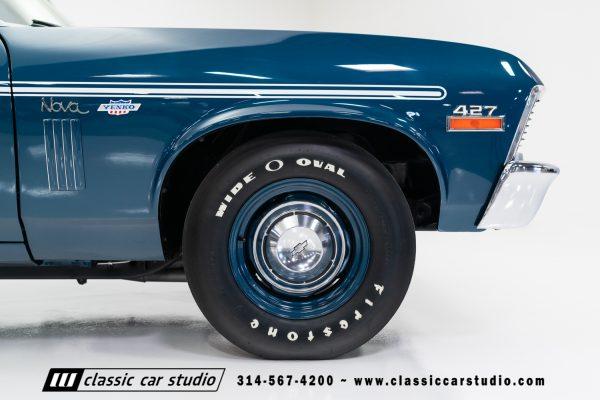 1972 Nova with a 427 ci Big-Block V8