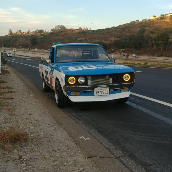 1973 Datsun 620 with a Volvo Turbo Inline-Five