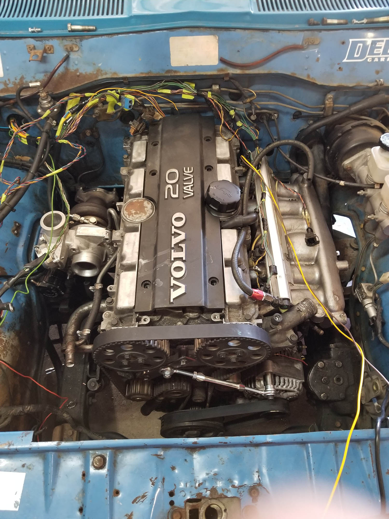 1973 Datsun 620 with a Volvo Turbo Inline-Five – Engine Swap ... on