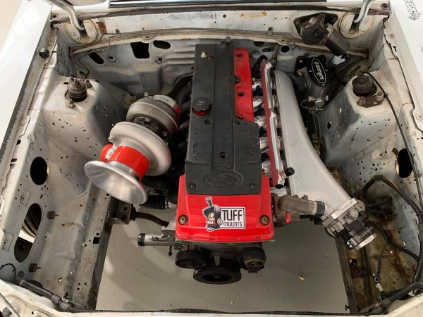 1989 Mustang with a Turbo Barra Inline-Six