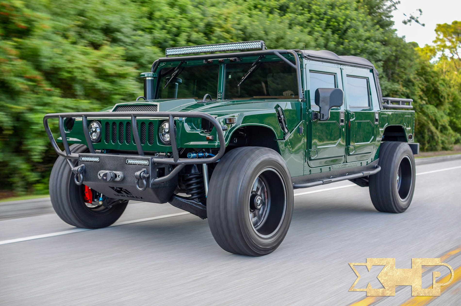 122 Hummer H12 with a Turbo Duramax V12 - engineswapdepot.com | detroit hummer