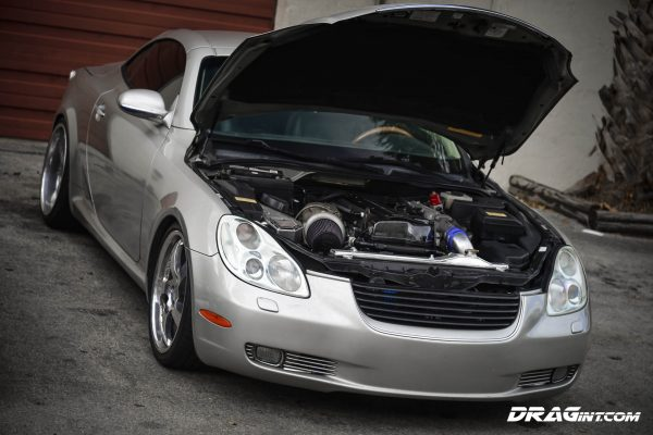 2002 Lexus SC430 with a 2JZ-GTE inline-six