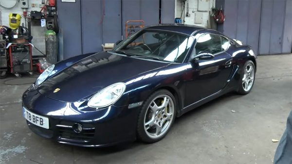 2007 Cayman with a LS3 V8
