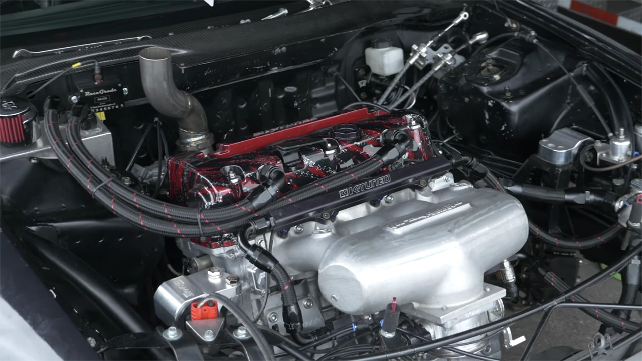 AWD Civic with 1400 hp Turbo K-Series Inline-Four – Engine Swap Depot