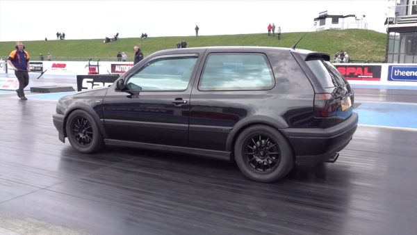 AWD Golf Mk3 with a Volvo Turbo Inline-Five