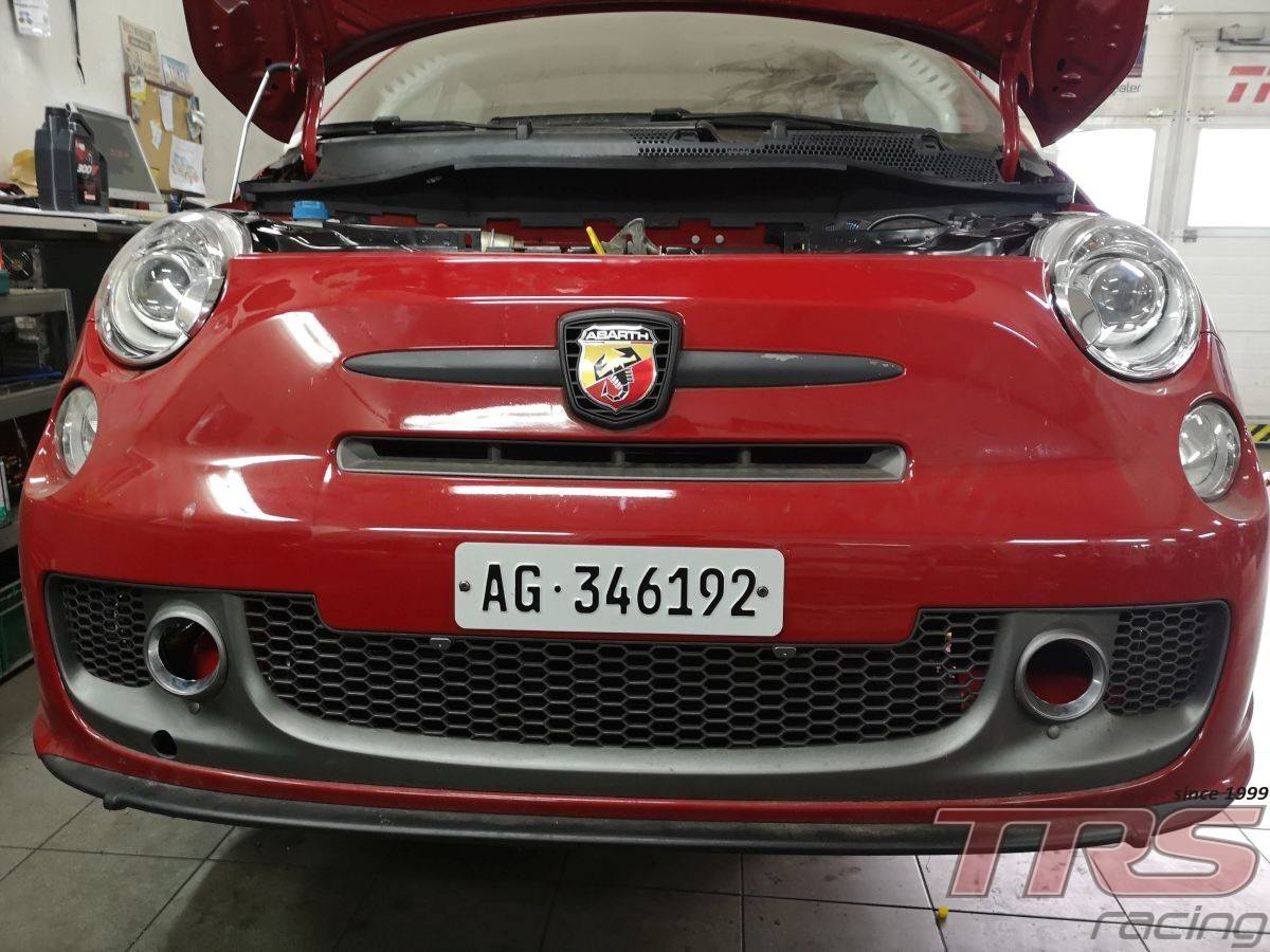 Abarth 500 with a Twin-Charged T-Jet Inline-Four