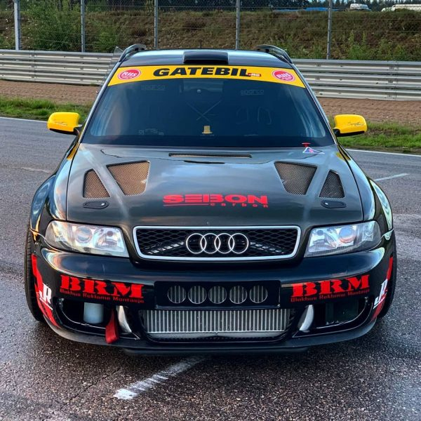 Audi RS4 with a twin-turbo 4.2 L V8