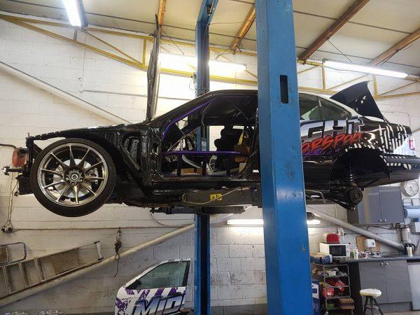 BMW E36 with a turbo N55 inline-six