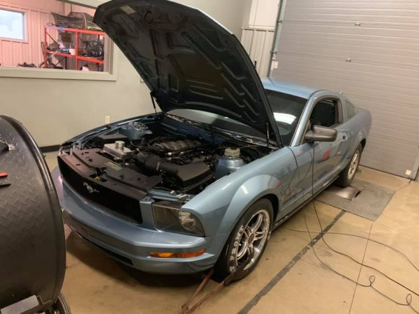 Brenspeed 2005 Mustang with a Coyote V8
