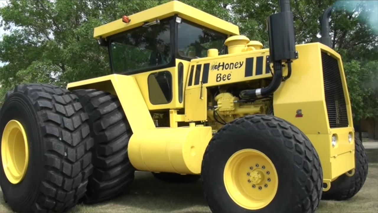 Honey Bee custom 2WD Tractor with a Cummins V12