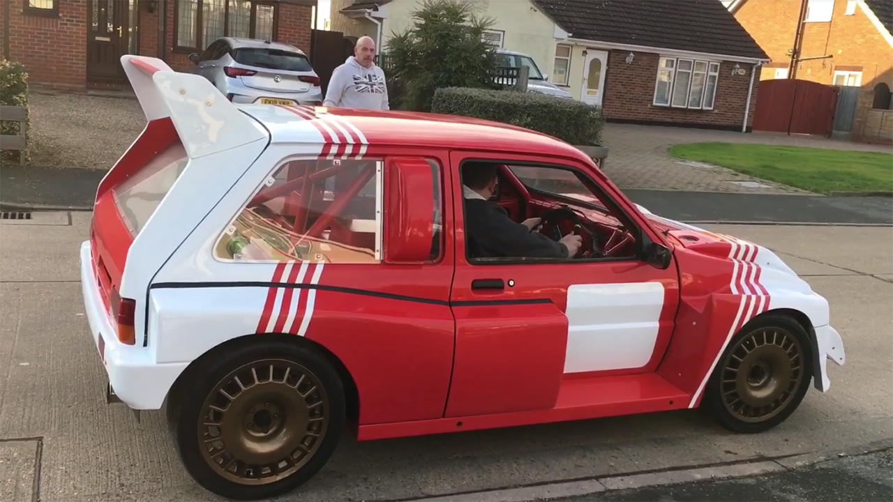 Metro 6R4 Replica with a Turbo K20 – Engine Swap Depot
