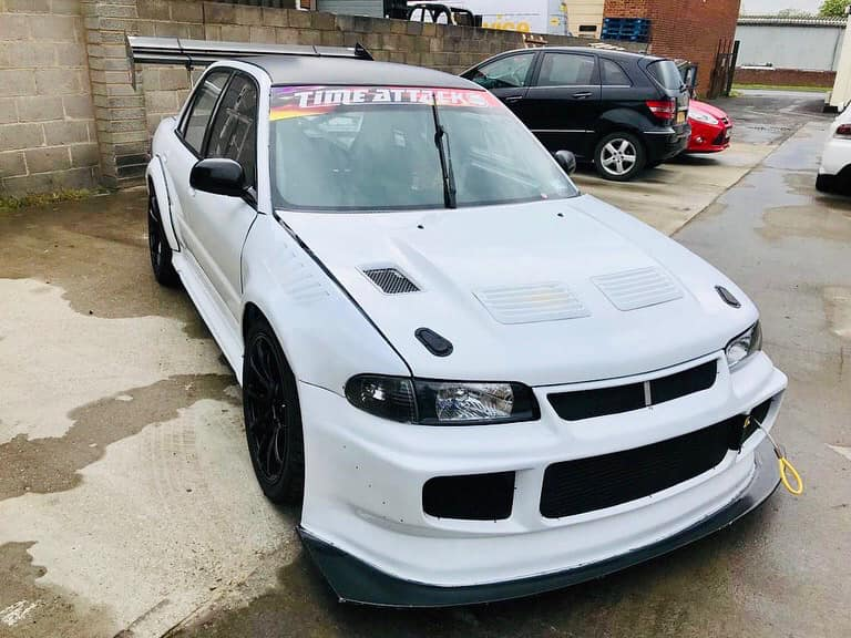 For Sale: Mitsubishi Evo 3 Race Car with a Turbo 2 37 L 4G64