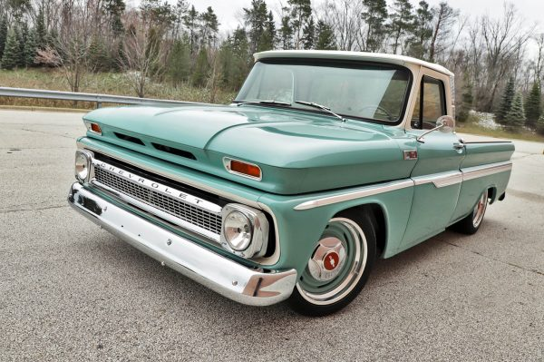Roadster Shop 1965 Chevy C10 with a LS3 V8