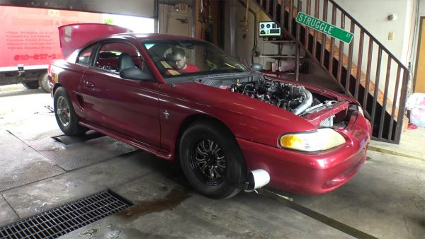 Sloppy Mechanics 1995 Mustang GT with a Turbo LSx V8