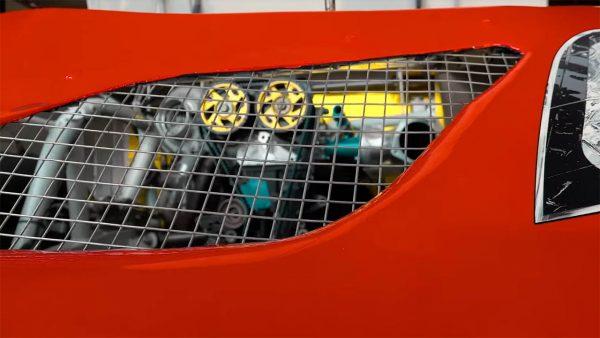 Toyota Nascar with a 2JZ-GTE inline-six
