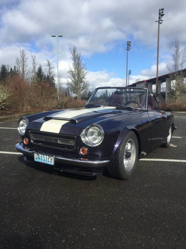 1969 Datsun Roadster with a Supercharged KA24 Inline-Four