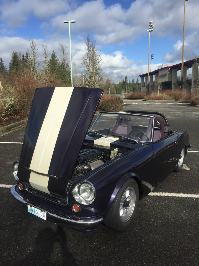 For Sale: 1969 Datsun Roadster with a Supercharged KA24DE