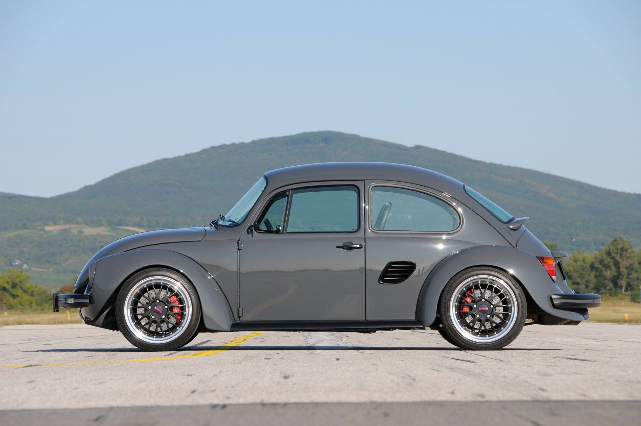 1973 Beetle Body On A Porsche Boxster S Chassis Engine Swap Depot