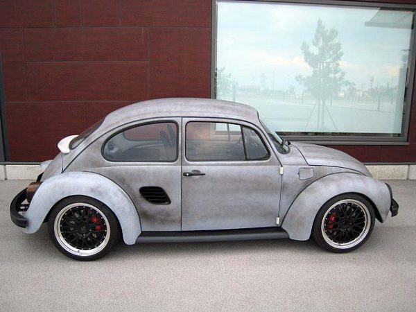 1973 Beetle with a Porsche Boxster chassis and powertrain