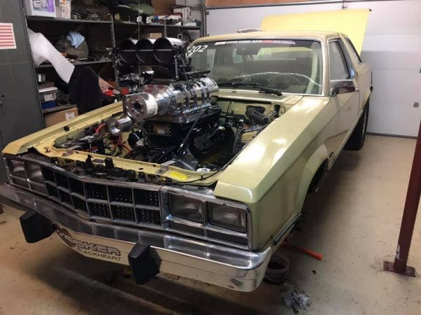 1978 Ford Fairmont with a supercharged LSX V8