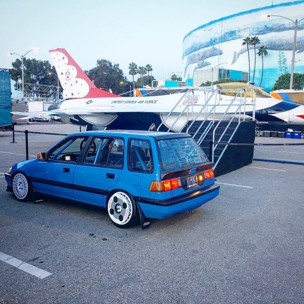 1991 Civic Wagon with a turbo K24 and AWD drivetrain