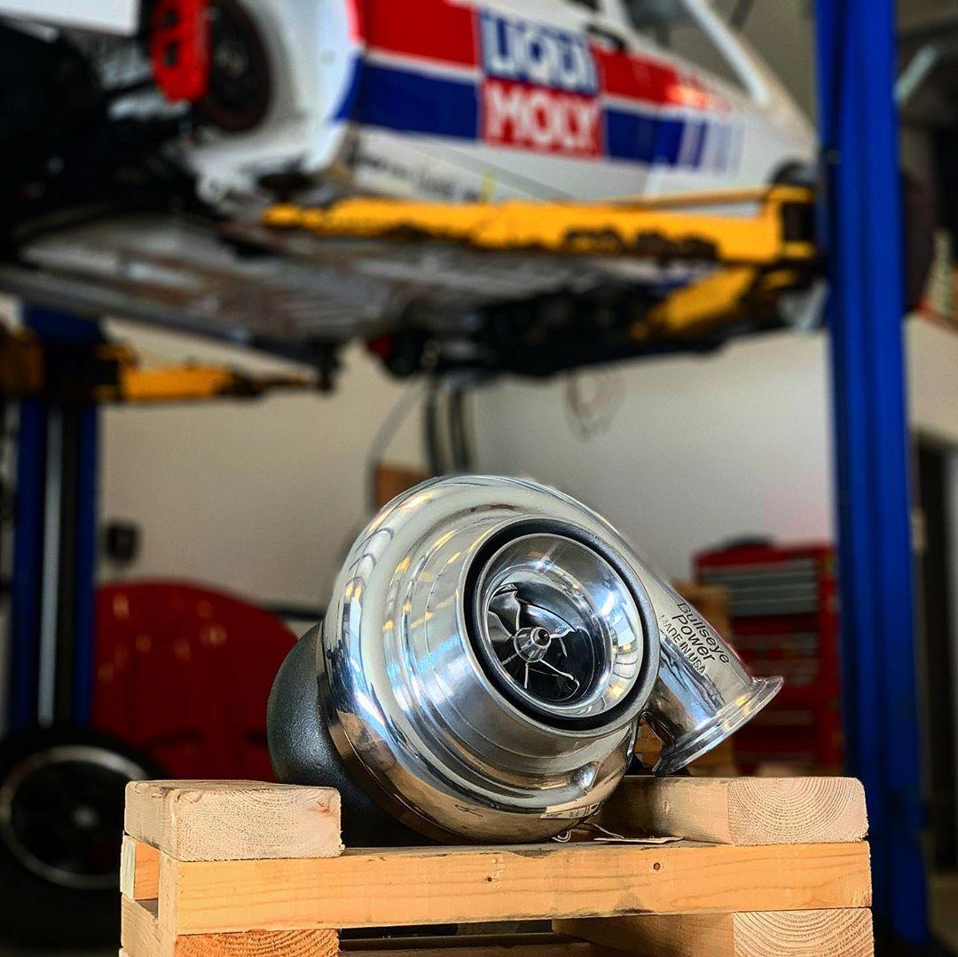 2000 Pontiac Grand Prix GTP with a Turbo LS4 V8 – Engine