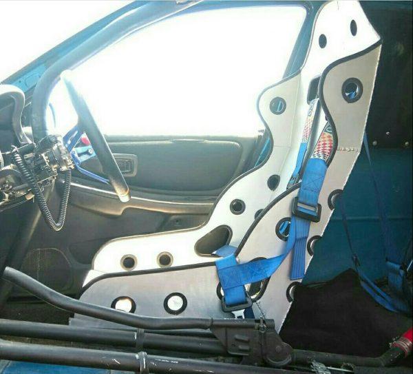 2000 Subaru Impreza WRX with a 2JZ-GTE Inline-Six