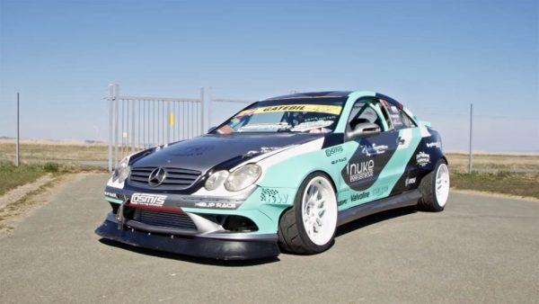 2003 Mercedes CLK with a turbo M104 inline-six