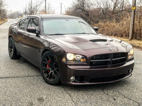 2007 Dodge Charger with a Hellcat supercharged V8