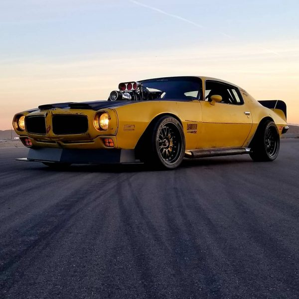 AWD 1971 Firebird with a supercharged LSx V8