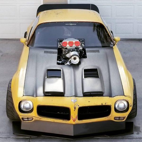 AWD 1971 Firebird with a supercharged LSx V8