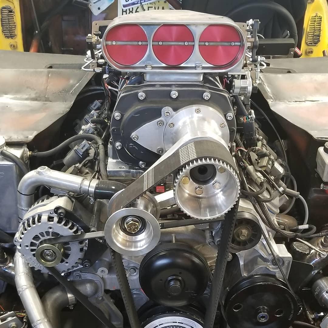 AWD 1971 Firebird with a Supercharged LSx V8 – Engine Swap Depot