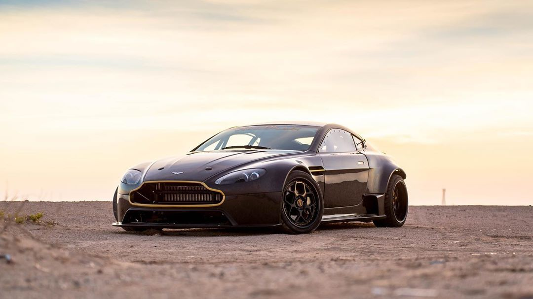 Aston Martin Vantage With A Twin Turbo Lsa V8
