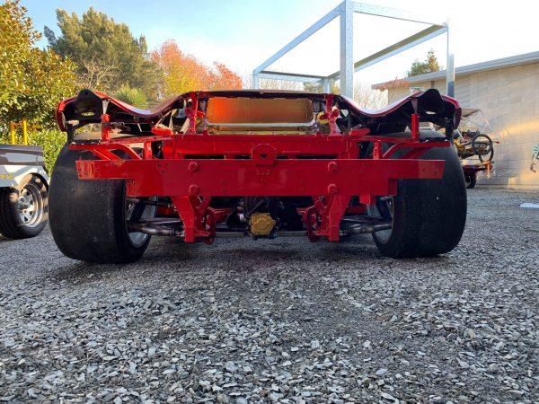 Ferrari 458 GT3 with a Chevy IndyCar V8